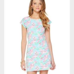 *Holy Grail*Sz 4 Lilly Pulitzer Lobstah Roll Dress